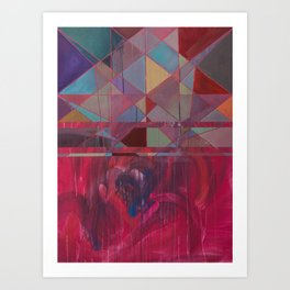 idioglossoia (em turbulência) Art Print