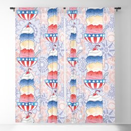 National Ice Cream Day Blackout Curtain