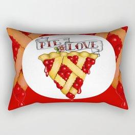 Pie Is Love Rectangular Pillow