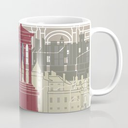Edinburgh skyline poster Coffee Mug