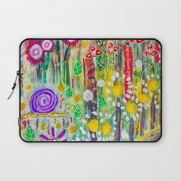 Snail in the Grass Laptop Sleeve