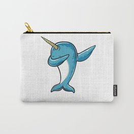 Funny Narwhal Dab Shirt - Dabbing Narwhal Shirt Carry-All Pouch