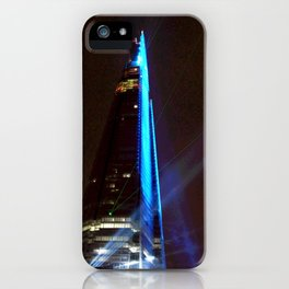 Shard Lights Show iPhone Case