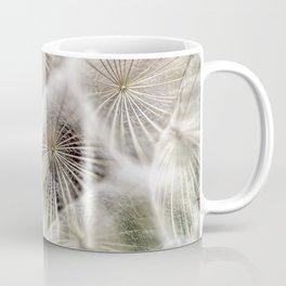 Into the deep- Dandelion Seed Head- Close up Coffee Mug
