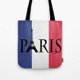 Grunge Paris Tote Bag