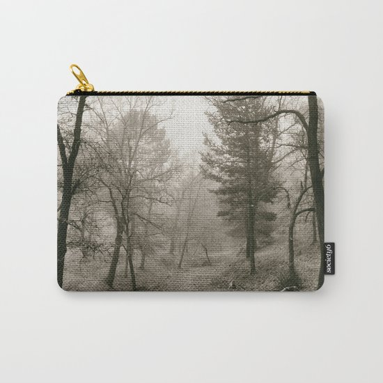 """""""Into the woods IV"""". Foggy forest Carry-All Pouch"""