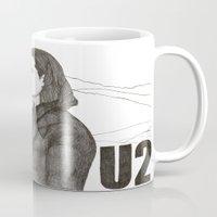 u2 Mugs featuring Joshua Tree by Paul Nelson-Esch Art