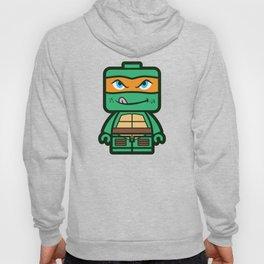 Chibi Michelangelo Ninja Turtle Hoody