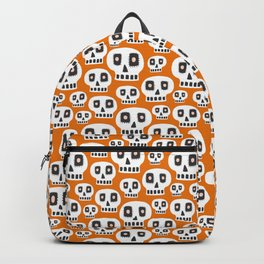 Day Of The Dead - Orange Backpack