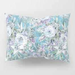 MAUI MINDSET Mystic Aqua Floral Pillow Sham