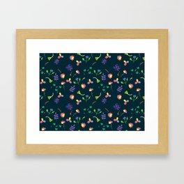 Spring Floral Pattern II Framed Art Print