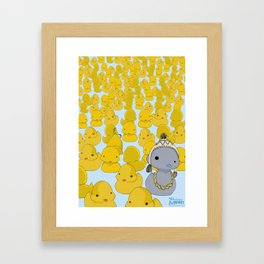 Ugly Duckling Framed Art Print