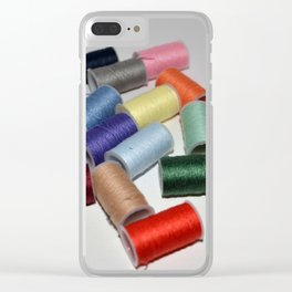 Spool Thread Clear iPhone Case