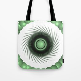 A Touch of the Green Eye Tote Bag