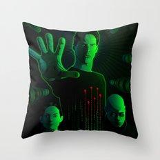 The Matrix Throw Pillow