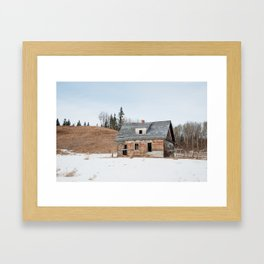 Usona Farm-house 3 Framed Art Print