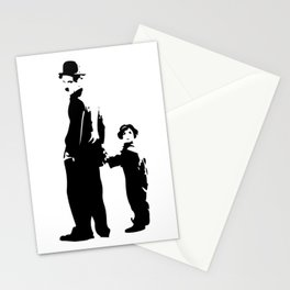 Charlie Chaplin - The Kid 1921 - Artwork for Wall Art, Posters, Prints, Tshirts, Bags, Men Women Kid Stationery Cards
