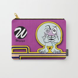 Dizzy Diver Cartoon Character on Springboard Carry-All Pouch