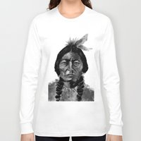native Long Sleeve T-shirts featuring Native by Paul Claisse