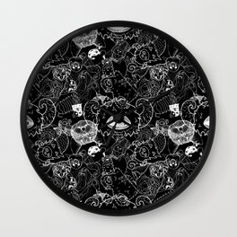 ALL THE THINGS! Wall Clock