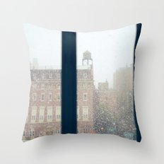 And On The Sixth Day, It Snowed Throw Pillow