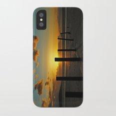 Golden sunset Slim Case iPhone X