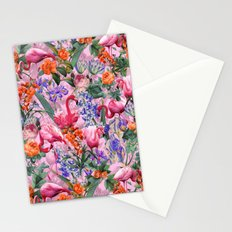 Floral and Flemingo VI pattern Stationery Cards