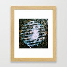 Full Harvest Moon Framed Art Print