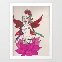 gypsy rose  Art Print