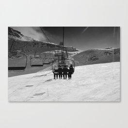 One Way Trip Canvas Print
