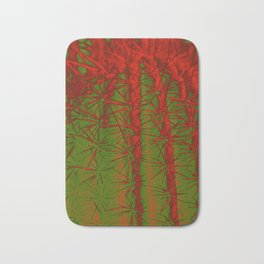 Cacti Abstract II Bath Mat