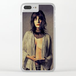 Patti Smith, Music Legend Clear iPhone Case