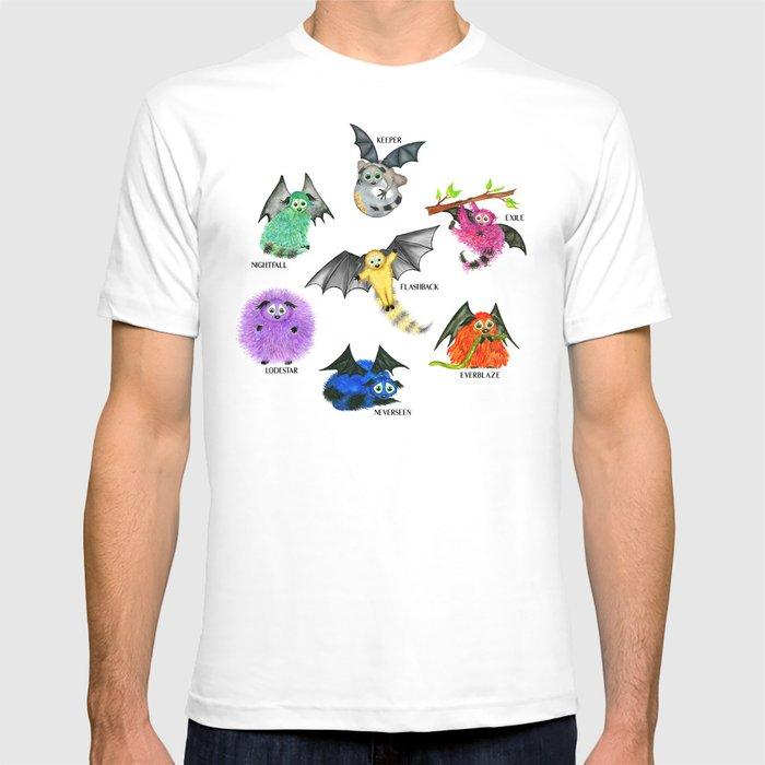 Seven Books, Seven Iggys T-shirt