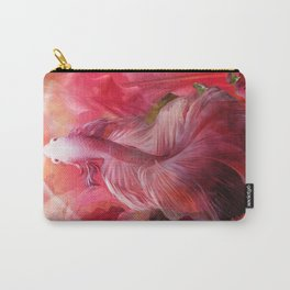"""""""Betta splendens Tropical Dream (Siam fighter)"""" Carry-All Pouch"""