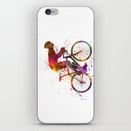 cyclist road bicycle iPhone Skin