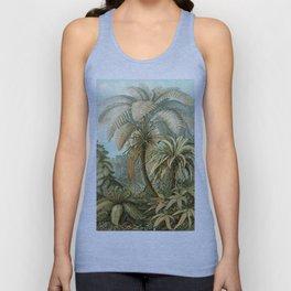Vintage Tropical Palm Unisex Tank Top