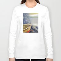 skyline Long Sleeve T-shirts featuring Skyline by Vilnis Klints