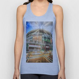 Arsenal Football Club Emirates Stadium London Sun Rays Unisex Tank Top