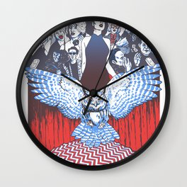 BLACK LODGE BURLESQUE Wall Clock