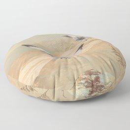 Gulf Coast Gulls Floor Pillow