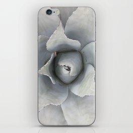 White Agave iPhone Skin