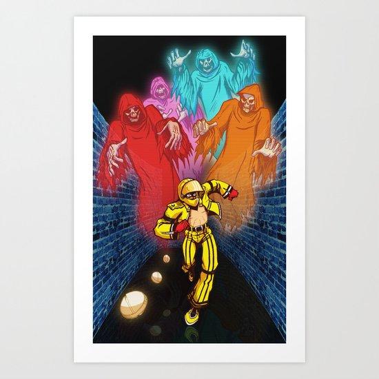 パックマン! (Pac-man!) Art Print