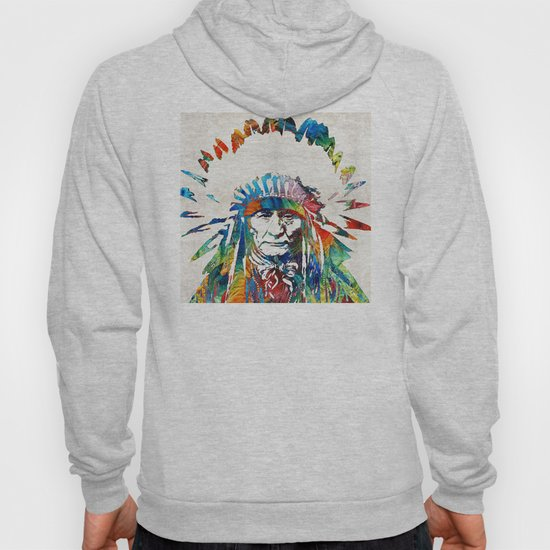 Native American Art - Chief - By Sharon Cummings by sharoncummings