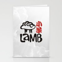 lamb Stationery Cards featuring Lamb by biblebox
