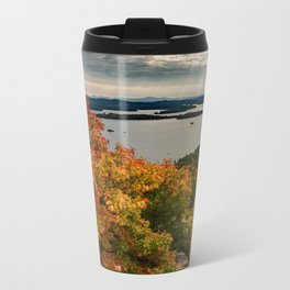 Autumn colors in New Hampshire Metal Travel Mug