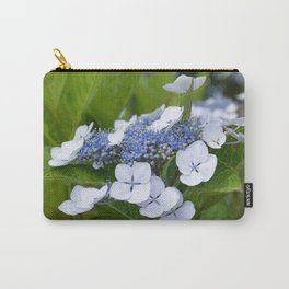 Wild Hydrangea Carry-All Pouch