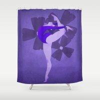 indigo Shower Curtains featuring Indigo by daniellepioli