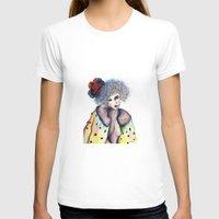 cara T-shirts featuring Cara by Jessis Kunstpunkt.