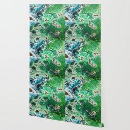 Ocean hues Wallpaper