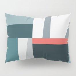 Organic Geometric 01 Blue Pillow Sham
